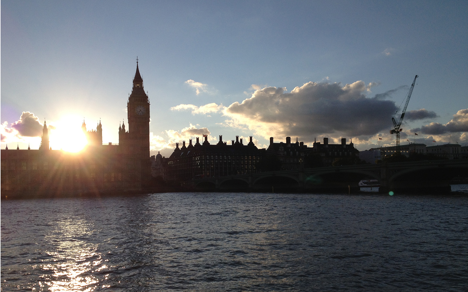 Big Ben Sunset 23 August 2015