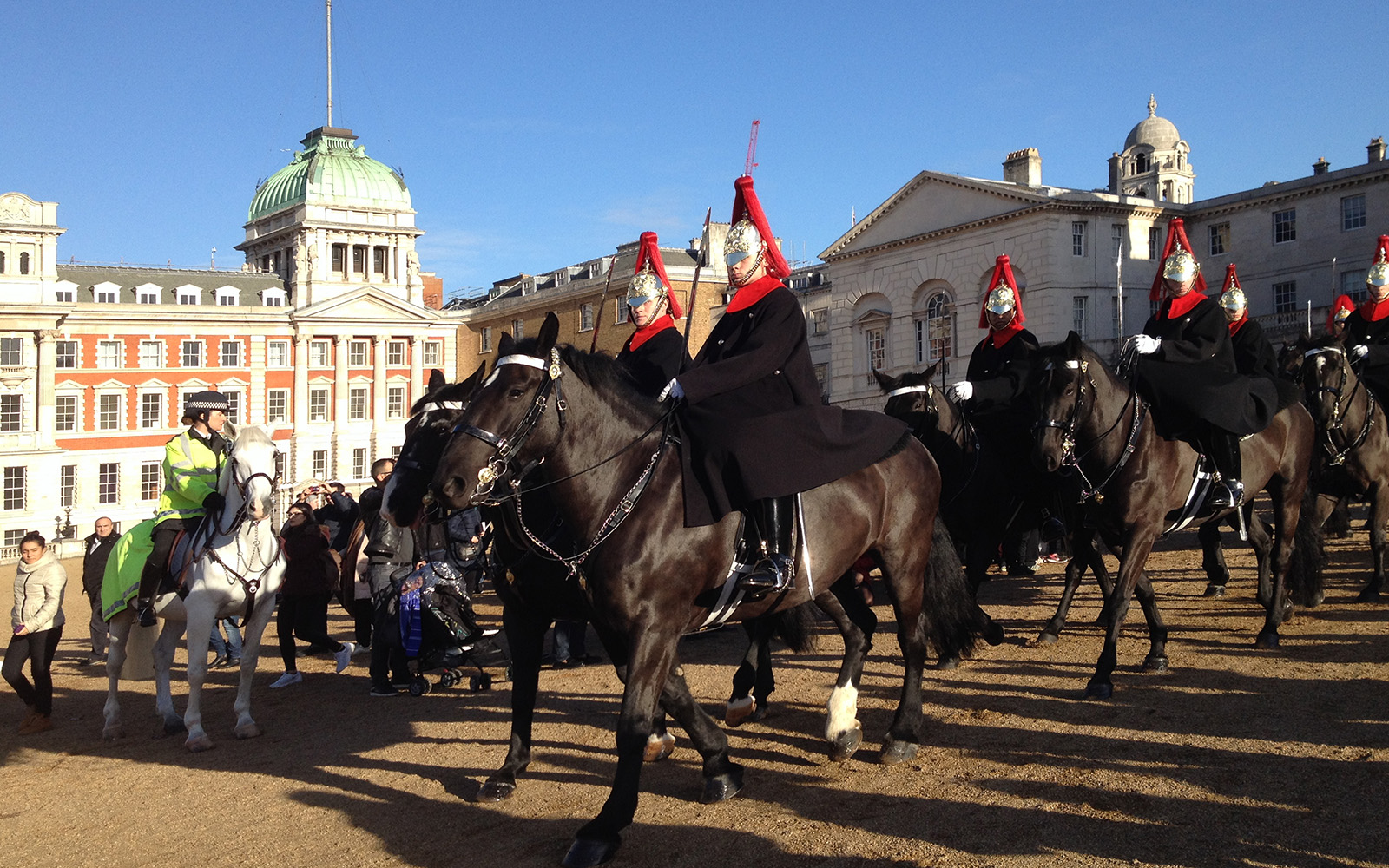 Horse Guards Parade 22 December 2016