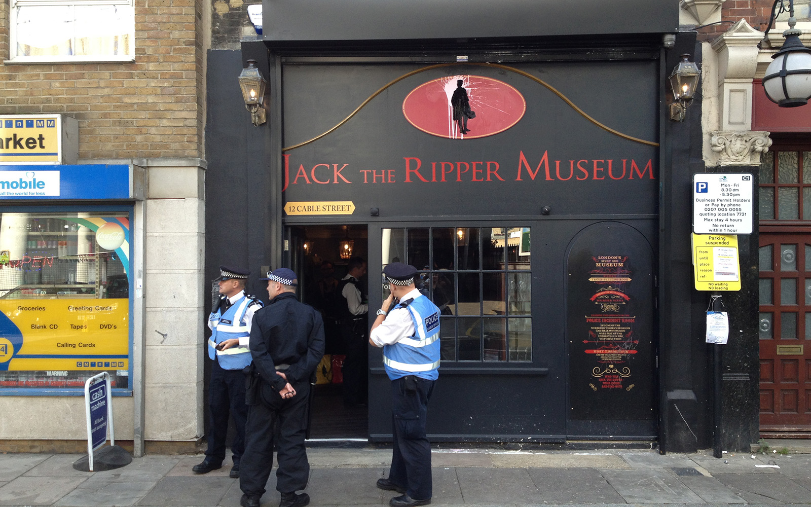 Jack The Ripper Museum 4 October 2015