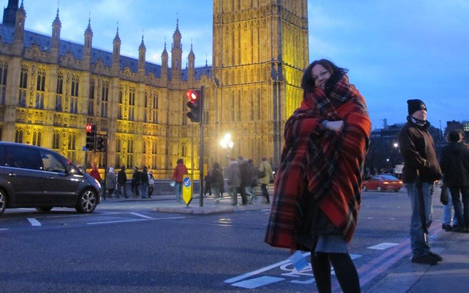 Olga At Parliament Square London