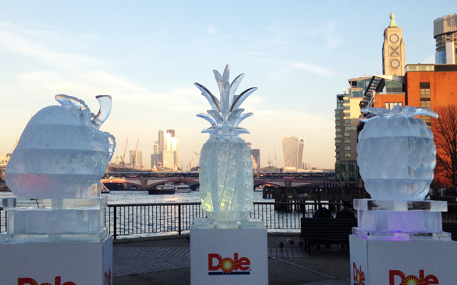 December 1 2016 South Bank Ice Fruits