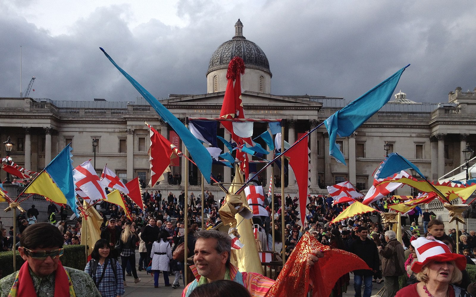 Trafalgar Square Events, St George Day 25 April 2015
