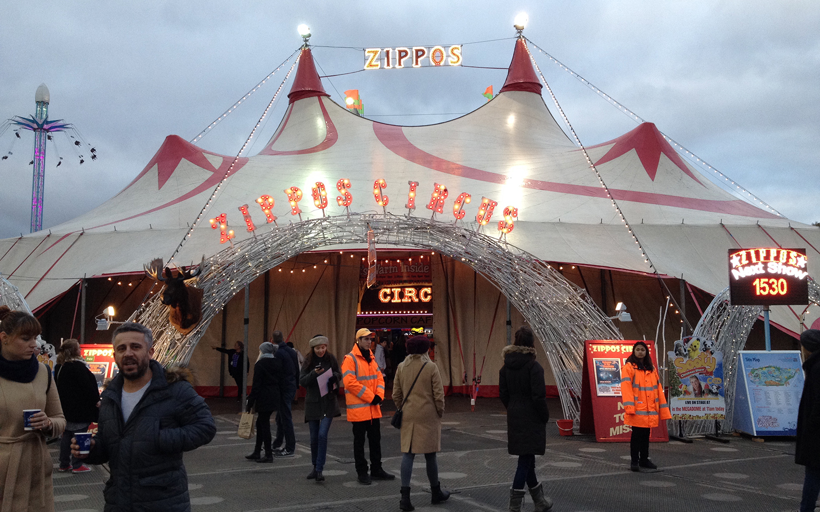 Hyde Park, Winter Wonderland. 27 November 2016