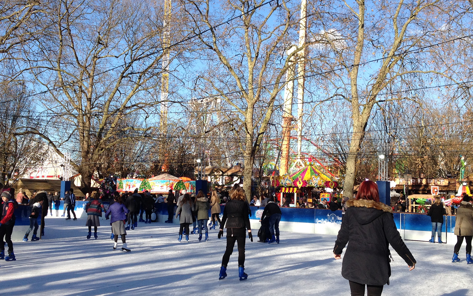 Hyde Park, Winter Wonderland. 28 November 2016