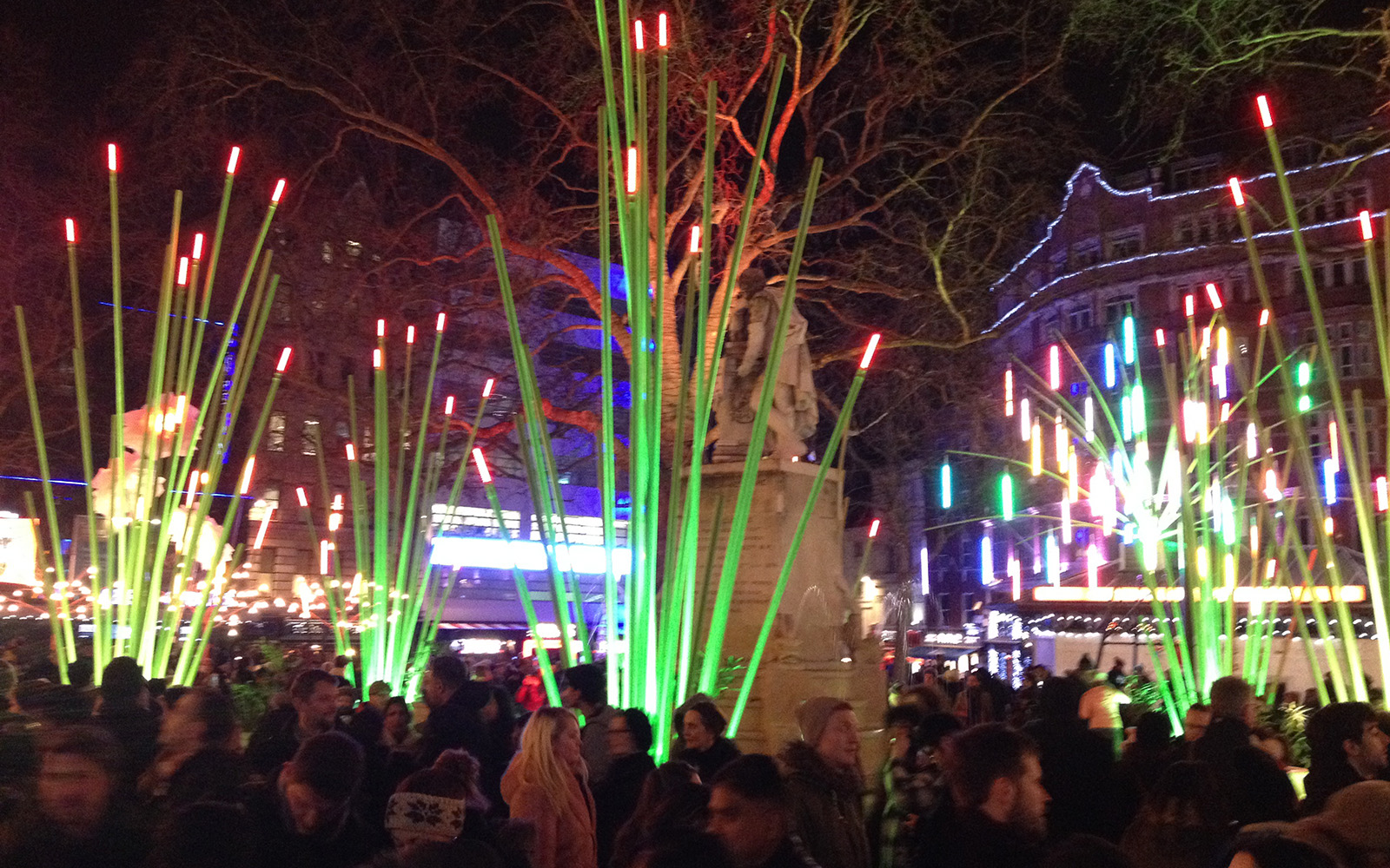 Leicester Square, Lumiere, 17 January 2016