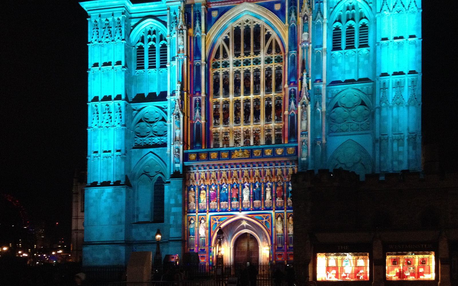 Westminster Abbey, 17 January 2016, Lumiere