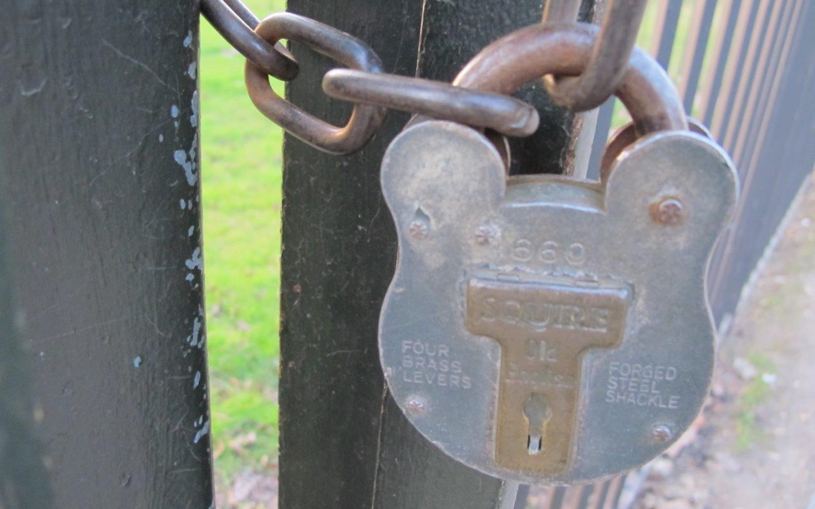 The Park Is Locked