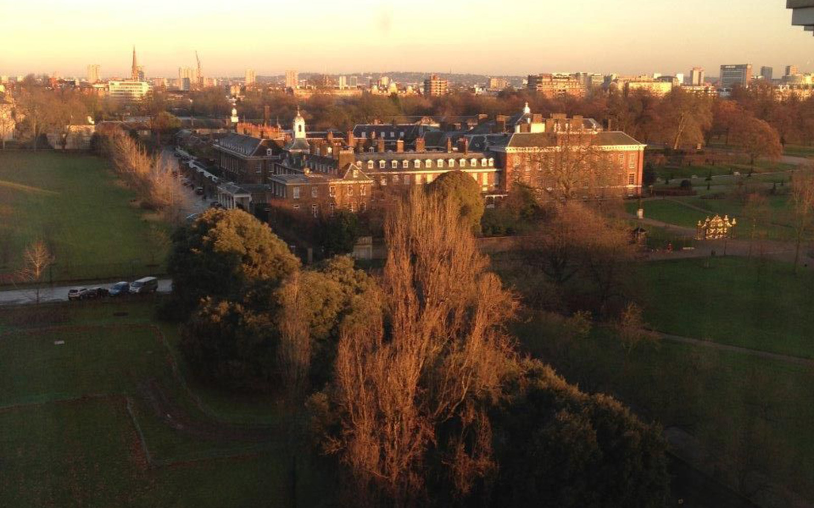 Kensington Palace From Royal Garden Hotel By Olga K