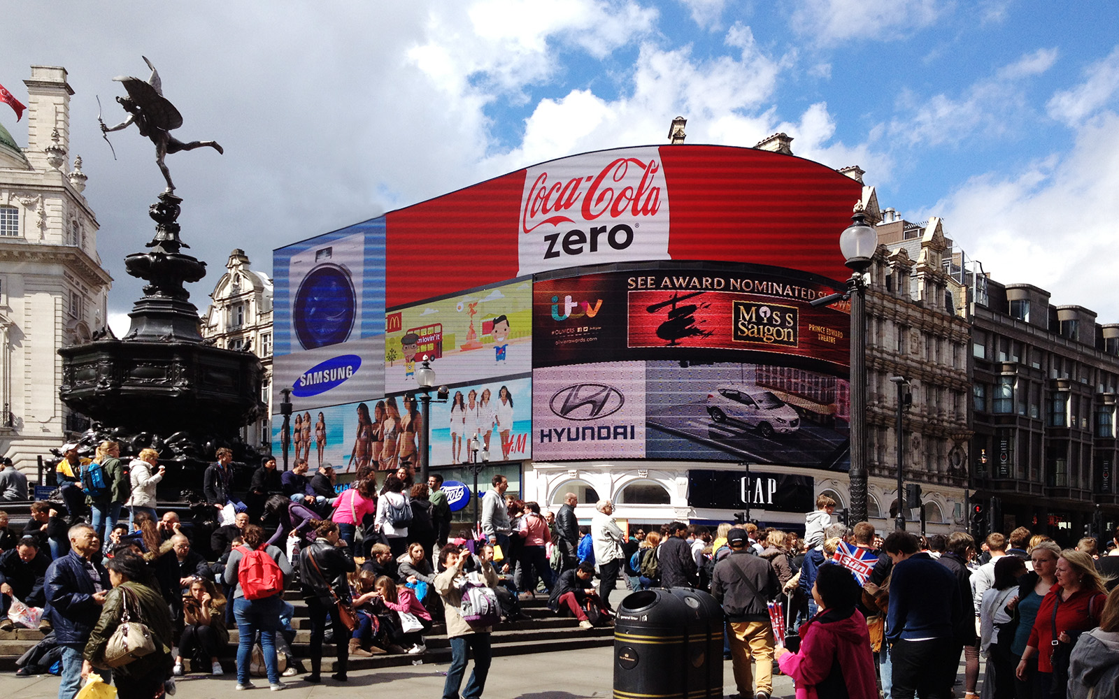 Piccadilly Circus 2 May 2015