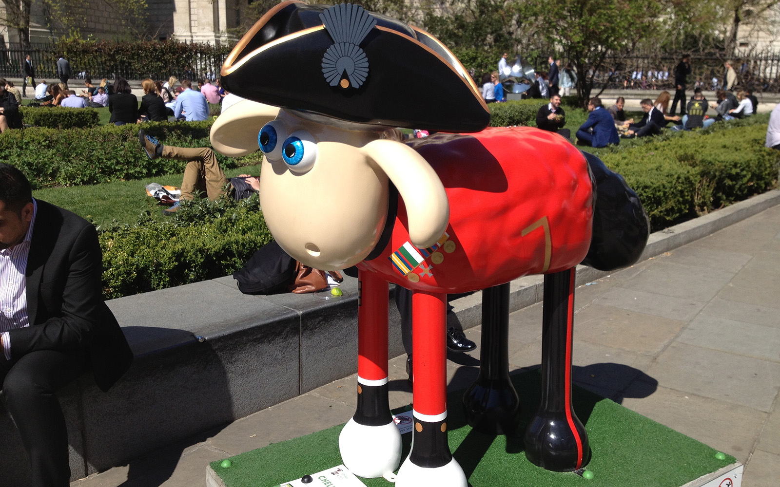Chelsea Pen Shaun Er created in honour of the Chelsea pensioners