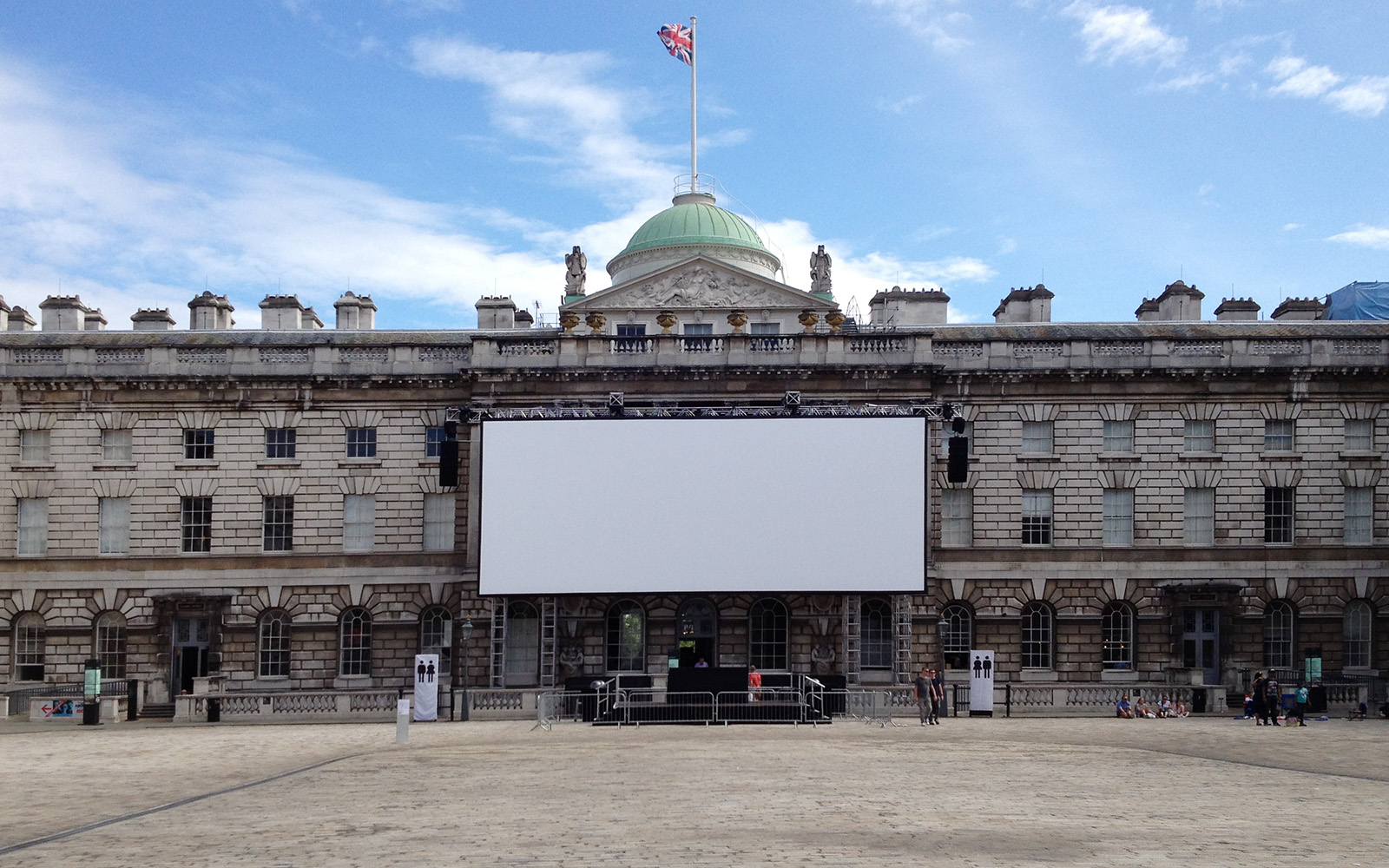 Somerset House, 9 August 2015